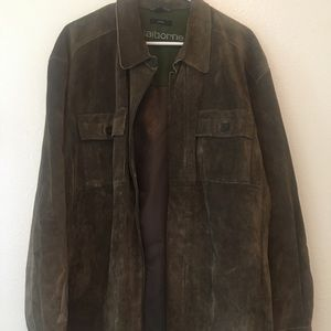 Men's Claiborne suede jacket